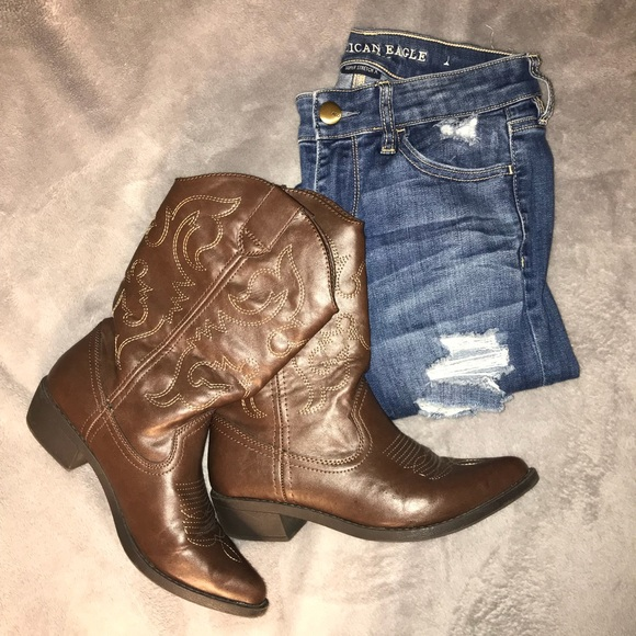 d9e65e99a11 ‼️SALE‼️ Kohl's So brand cowboy boots